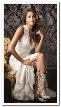 high low wedding dresses | Posts related to High Low Wedding Dresses With Boots