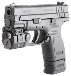 Springfield XD-9 with Viridian C5L laser/light $265 Amazon Prime