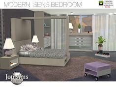 My Sims 4 Blog: Modern Sens Bedroom Set by JomSims