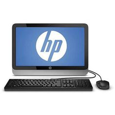 Refurbished HP 19-2113W 19.45? All-In-One Desktop PC J1800 4GB Memory 500GB Drive Win 8.1 | #Computers #DesktopComputers HP