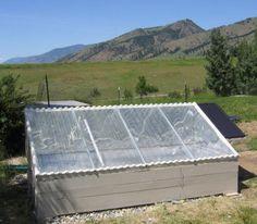 Solar Pond Domestic Hot Water Heater   -- Prototype 3