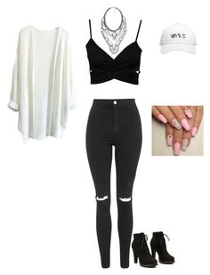 """hanging with my sister and mahogany lox"" by sweetswagger ❤ liked on Polyvore featuring Oneness, Topshop, October's Very Own and MANGO"