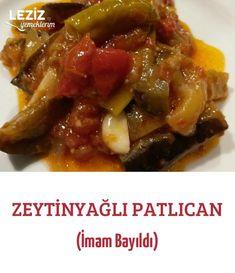 Zeytinyağlı Patlıcan (İmam Bayıldı) Beef, Food, Cooking, Meat, Eten, Ox, Ground Beef, Meals, Steak