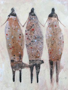 """San Ge Nu Ren"" by Scott Bergey on Etsy."