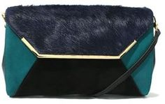 80c9ab3c4933 Color Block Clutch / ShopStyle(ショップスタイル): ICB クラッチバッグ - shopstyle.