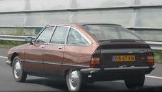 Citroen GS uit de jaren 80 rijdt nog vrolijk ergens rond in Nederland.