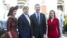 WA& MAX ontvangen Felipe & Letizia in Den Haag