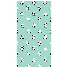 Toalla playa microfibra Pandas Green Backgrounds, Soft Colors, Duvet Covers, Quilts, Pandas, Pools
