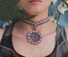 """Collar """"Vasantasri"""" (ganchillo)"""