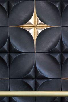 New Wall Tiles Texture Black Ideas 3d Tiles, Concrete Tiles, Wall Tiles, Wall Patterns, Textures Patterns, Panneau Mural 3d, 3d Foto, Modelos 3d, 3d Wall Panels