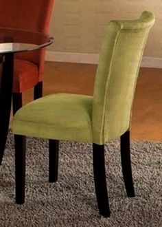 Vienna Green Parson Dining Chair Set of 2 *** Continue to the product at the image link.