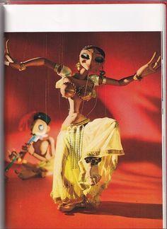 "Bil Baird – Belly Dancer from ""The Art of the Puppet,"" 1973"