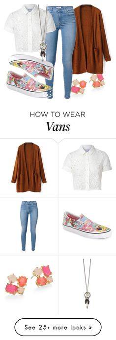 """""""#762"""" by kekka199 on Polyvore featuring Kate Spade, Vans and Glamorous"""