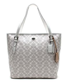 Loving this Dove White Peyton Dream Signature Tote on #zulily! #zulilyfinds