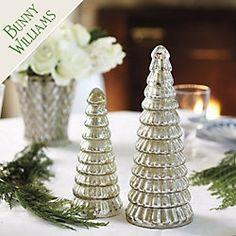 Bunny Williams Mercury Glass Trees