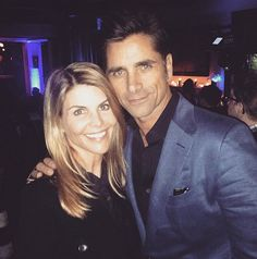 Excited for the Full House reboot, Fuller House?! Check out some of the sweetest pictures of the cast hanging out in real life, including some crazy-cute photos of Aunt Becky (Lori Loughlin) and Uncle Jesse (John Stamos) — have mercy!