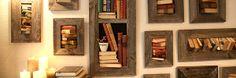 Old Books, Make Art, Altered Books, Book Art, Recycling, Shelves, Frames, Diy, Home Decor