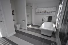 Perth Bathroom Packages provides an extensive online gallery for bathroom ideas allowing you to visualize contemporary, modern and elegant style bathrooms. Bathroom Photos, Bathroom Ideas, Olympia Tile, Cast Iron Bath, Wall And Floor Tiles, My Dream Home, Dream Homes, Dream Bathrooms, Contemporary Bathrooms