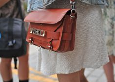 PS11 at New York Fashion Week    #Bags #PS11 #ProenzaSchouler