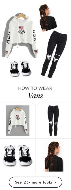 """vans chilled look"" by jssisjsjdudhdbu on Polyvore featuring LullaBellz and AMIRI"