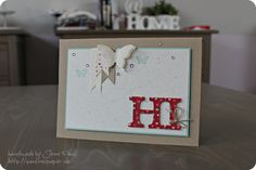 Stampin'Up hearts a flutter collection love