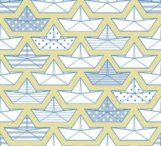 graphic prints, spoonflower, boats, hat patterns, papers, paper boat, fabric, paper hats, paper crafts