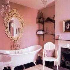 Claw tub and pink!