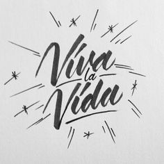 2014 lettering/calligraphy selection from Ricardo Gonzalez on Behance