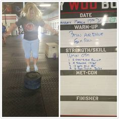 Jodi O'Malley - Just #start! This is me today doing my version of the #boxjump. I am up to 3-45lbs plates. Do you know where i started? Just jumping in the air