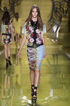 Versace Women's Collection Spring Summer 2014 - #Versace #VersaceLive #VersaceWomenswear
