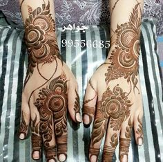 Mehendi Mandala Art #MehendiMandalaArt #MehendiMandala @MehendiMandala Rose Mehndi Designs, Arabic Henna Designs, Modern Mehndi Designs, Dulhan Mehndi Designs, Wedding Mehndi Designs, Beautiful Henna Designs, Latest Mehndi Designs, Mehndi Designs For Hands, Tattoo Henna