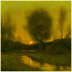 Michael Fratrich Tonalist Landscape Paintings