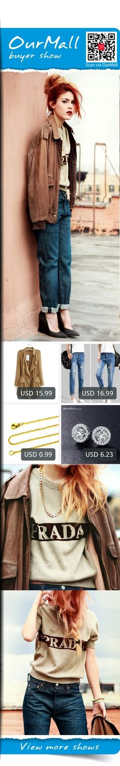 This is Lua P's buyer show in OurMall; totally wearing four items below: 1.2016 Korean style Office elegant khaki drawstring Waist Long trench coat for women 2.frayed pants nine points beggar pants female 2016 new casual comfortable loose 3.Plated Gold Stainless Steel Nec...If you'd like to buy above, please click the picture for detail. http://ourmall.com/?Z3EZZn #coat #windbreaker #longcoat #springcoat #redcoat #coatforwomen #femalecoat #trenchcoat #capecoat #rackcoat #Khaki