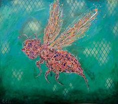 Artist : Manuel Miguel, Title : De la Serie Abejas. Para mayor información: https://www.facebook.com/pg/MADartmx/photos/?tab=album&album_id=995476873796067