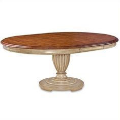 Lowest price online on all ART Furniture Provenance Round Dining Table Top in…