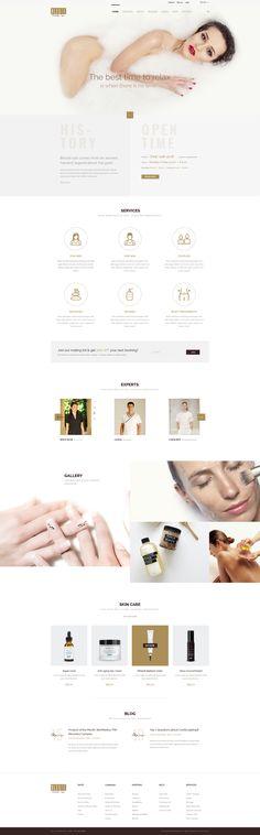 Bleute - WordPress theme Beauty | Spa | Hair Salon | Makeup | Hair | Yoga | Booking WooCommerce by Beautheme