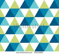 Seamless geometric pattern. Infinity abstract triangle geometrical background. Vector illustration.