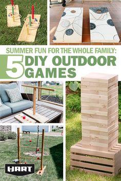 Diy Yard Games, Diy Games, Backyard Games, Backyard Projects, Outdoor Games, Diy Wood Projects, Outdoor Projects, Diy Projects To Try, Outdoor Fun