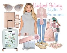 Weekend Getaway by prettyyourworld on Polyvore featuring Maurie & Eve, M.i.h Jeans, MICHAEL Michael Kors, Rebecca Minkoff, Ted Baker, Lodis, Marc by Marc Jacobs, Ghost, VAIN STHLM and Accessorize