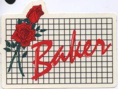 Baker+Skateboards+Roses+Sticker+Grateful+Dead