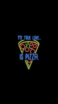 pizzzaaa // #neonlights