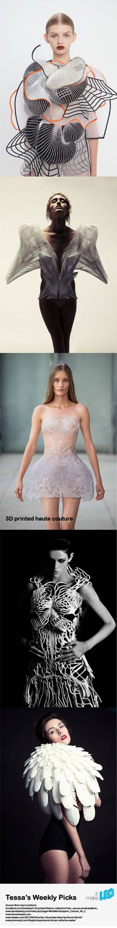 Haute Couture and 3D printing: an absolutely fabulous combination