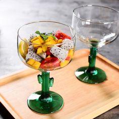 Unique Cactus Margarita Glasses
