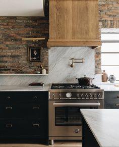 Kitchen Interior, New Kitchen, Kitchen Dining, Kitchen Decor, Surf Decor, Cuisines Design, Dream Decor, Modern Kitchen Design, Dining Room Design