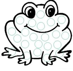 cheznounoucricri - Page 36 Frogs Preschool, Preschool Learning, Preschool Crafts, Frog Activities, Preschool Activities, Art For Kids, Crafts For Kids, Frog Theme, Do A Dot
