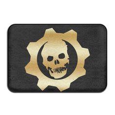 Non-slip Gears Of War Gold Logo 40*60cm Doormat Oxjwn >>> Trust me, this is great! Click the image. : home diy garden