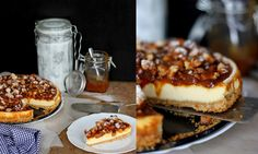Mikyna v kuchyni: Karamelový dort s makadamovými oříšky a mascarpone