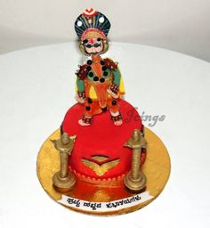 Yakshagana cake