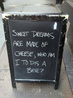 so cheesy....(pun intended)