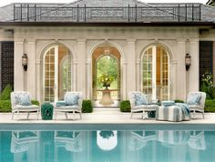 Pool House Chic: Follies, Cabanas And Tents